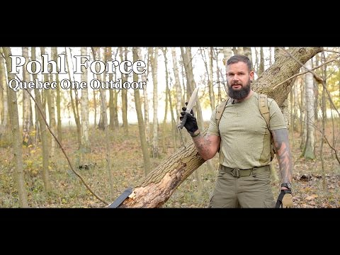Pohl Force Quebec One Outdoor Messer Review