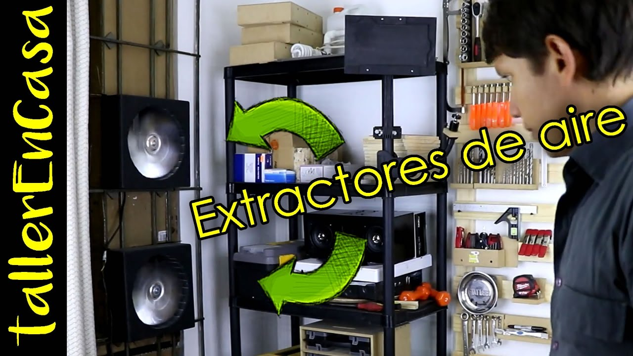 Como hacer extractor de aire de pared casero youtube - Extractor de aire ...