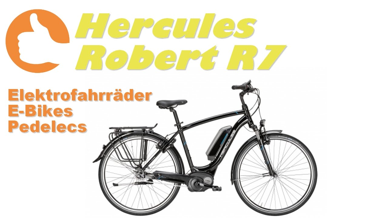 Hercules Robert R7 [E-Bike Produktvideo] - YouTube