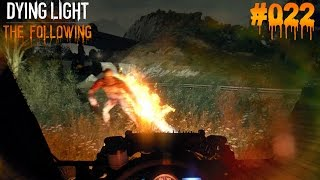 DYING LIGHT THE FOLLOWING #022 - ♥ Fahrerpunkte farmen ♥  | Let's Play Dying Light (Deutsch)