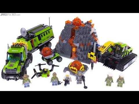 Lego city volcano exploration base review 60124 youtube - Image lego city ...