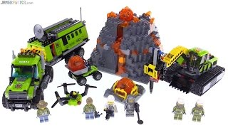 LEGO City Volcano Exploration Base review! 60124