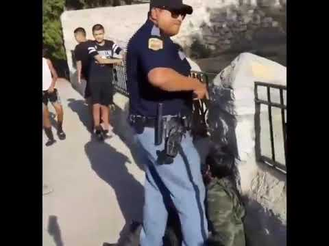 El Paso Texas police misconduct and unlawful arrest.