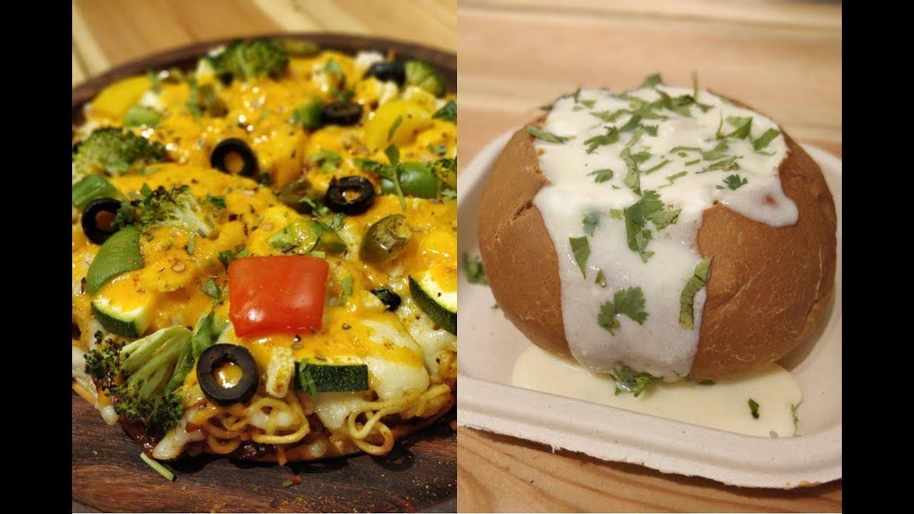 MAGGI Pizza | CHEESY Maggi Misal Pav | 50 Varieties of Maggi Dishes | Indian Street Food