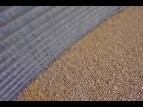 What is inside a grain bin
