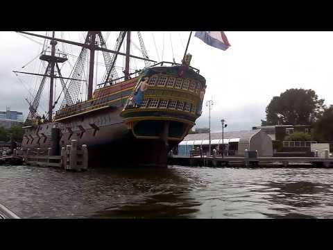 Amsterdam boat ride
