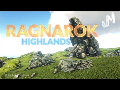 Ark 💥 XBOX/PS4 RAGNAROK Map Tour - Highlands Zone - EP3