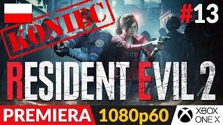 Resident Evil 2 PL - Remake 2019  #13 (odc.13 Koniec gry)  Zakończenie - LEON A