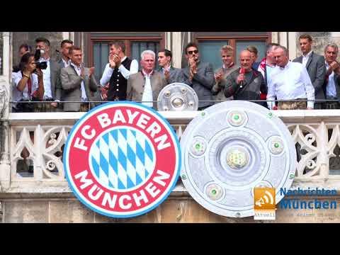 FC Bayern Meisterfeier 2018