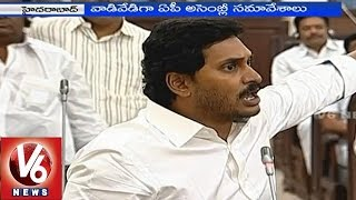 TDP MP Acham Naidu fires on YS Jagan in AP Assembly