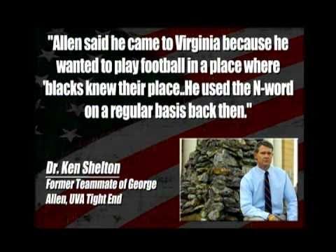 Racist Senate Candidate In Virginia? (George Allen)