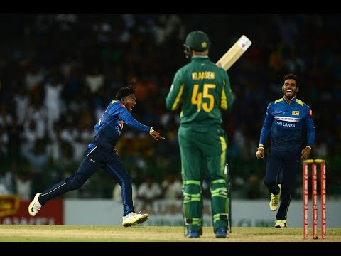 5th ODI Highlights - Sri Lanka beat South Africa by 178 runs