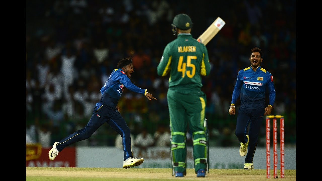 5th ODI Highlights - Sri Lanka beat South Africa by 178 runs