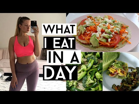 WHAT I EAT IN A DAY TO LOSE WEIGHT | Getting Back On Track
