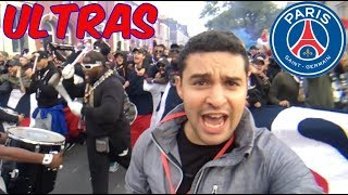 PSG ULTRAS at Anfield, amazing atmosphere | Champions League | Liverpool