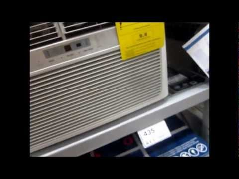 New frigidaire window heat pump at lowe 39 s youtube for Window heat pump