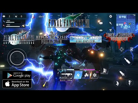 FINAL FANTASY VII 2021 iOS & Android NEW Gameplay