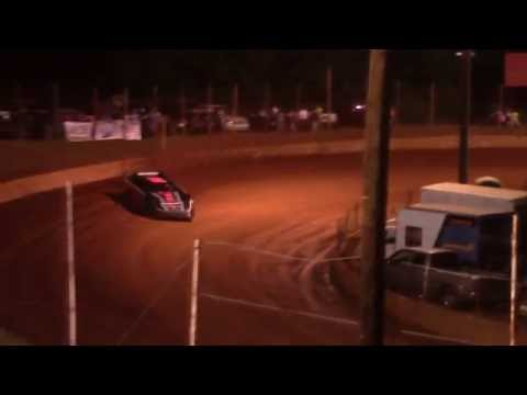 Jimmy Johnson Setting Record Lap at Winder Barrow Speedway 6/18/16