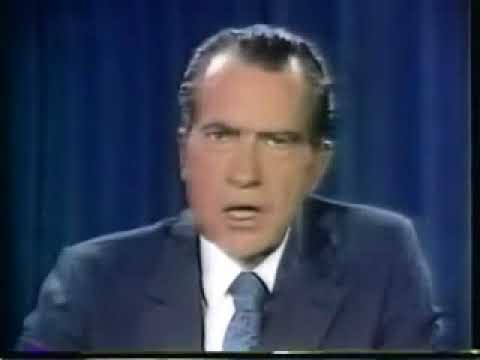 Nixon Ends Bretton Woods International Monetary System August 15, 1971