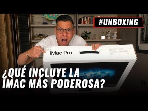Apple iMac Pro - Unboxing en español