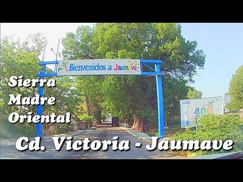 De Cd. Victoria a Jaumave, Tamaulipas, Sierra Madre Oriental, Parte 2