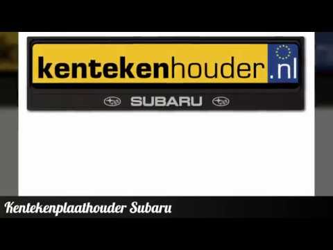 Kentekenplaathouder Subaru