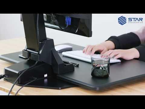 Star Ergonomics™ Electric Sit-Stand Workstation – SE04E1WB