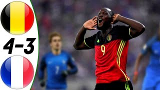 Belgium vs France 4:3 - All Goals & Extended Highlights RESUMEN & GOLES (07/06/2015) HD