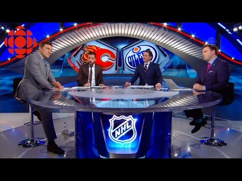 CBC HNIC (After Hours Oilers/Flames) April 2, 2016
