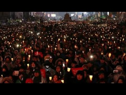 Protests erupt as South Koreans demand president resigns
