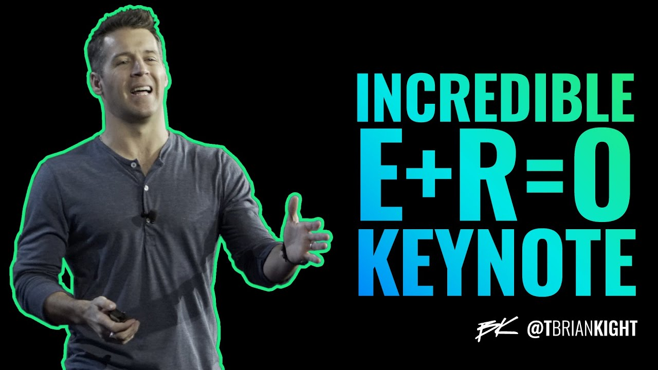 Download Brian Kight - FULL KEYNOTE - Installing E+R=O for individual and team performance