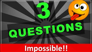 3 Trick Questions Your Friends will ALWAYS get Wrong!! (with answers)