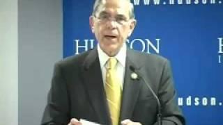 Representative Rubén Hinojosa at Hudson Institute