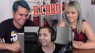 REACT O CUBO ME ESGURMITOU! - MELHORES CLIPES (alanzoka)
