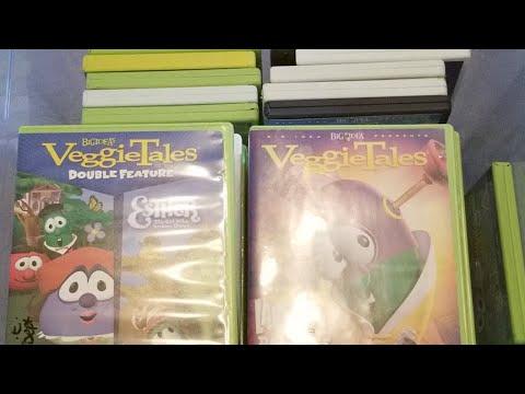 Classic VeggieTales Fan Livestream: My VeggieTales DVDs