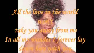Скачать DIONNE WARWICK ALL THE LOVE IN THE WORLD LYRICS VINYL 1982