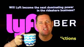 Will Lyft become the dominating power in the #rideshare industry?