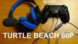 turtle beach recon 60p ps4 headset review 2016