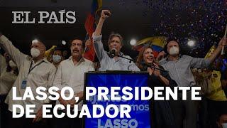 Guillermo LASSO, nuevo presidente de ECUADOR: