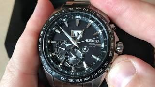 Seiko Astron GPS Solar 8X42 Review