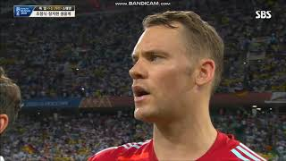 Anthem of Germany vs Sweden FIFA World Cup 2018