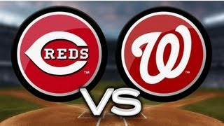 MLB 13 The Show Gameplay - Reds vs Nationals (w/ Commentary)