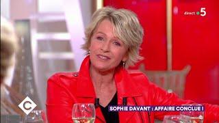 Au dîner avec Sophie Davant ! - C à Vous - 28/05/2019