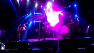 Caída del guitarrista los internacionales vaskez