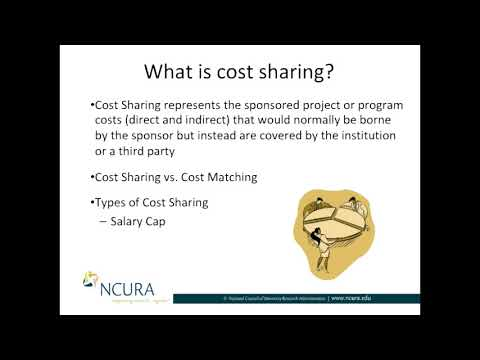 The Definition of Cost Sharing