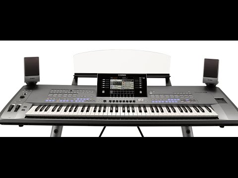Yamaha Tyros5 Demo With Peter Baartmans: Organ World Concert Organ Voice