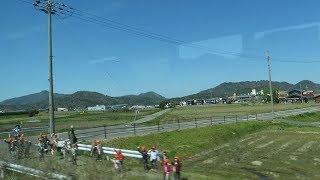 JR西日本 春の小浜線 東舞鶴行き ローカル線の良さ ホットする瞬間車窓  美浜駅~十村にて 2019 04
