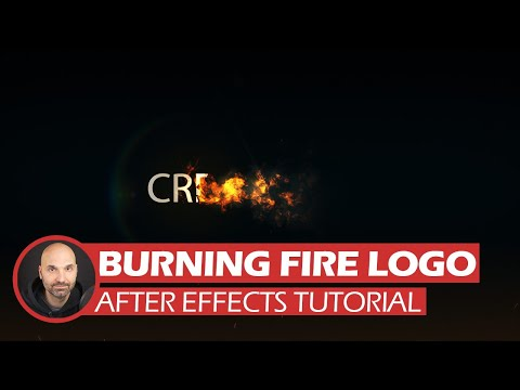 After Effects Tutorial - Fire Logo (Free Project Files)