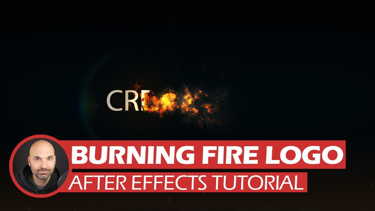 After Effects Tutorial - Fire Logo (Free Project Files) - YouTube