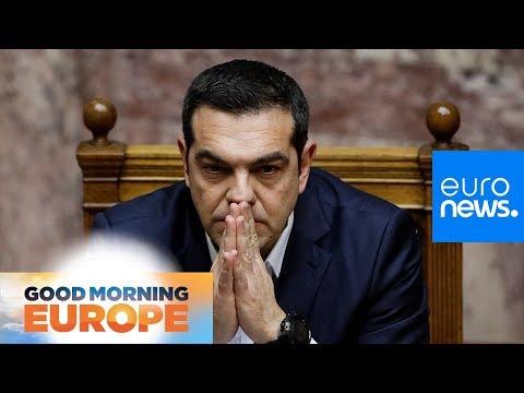 Greek Prime Minister Alexis Tsipras wins confidence vote